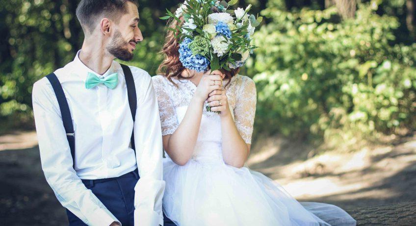 Boho Hochzeit mit freier Trauung